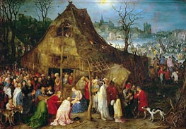 Jan Bruegel the Elder | Adoration of the Magi, 1598 | Giclée Canvas Print