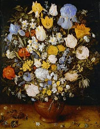 Jan Bruegel the Elder | Small Bouquet of Flowers, c.1607 | Giclée Canvas Print
