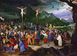 Jan Bruegel the Elder | Crucifixion, c.1595 | Giclée Canvas Print