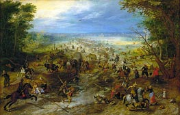 Jan Bruegel the Elder | The Ambush, c.1618/20 | Giclée Canvas Print
