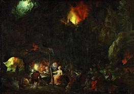 Jan Bruegel the Elder | Temptation of Saint Anthony, c.1603/04 | Giclée Canvas Print