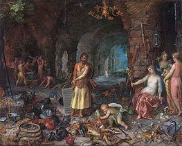 Jan Bruegel the Elder | The Prophecy of Isaiah, 1609 | Giclée Canvas Print