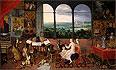Bruegel the Elder - Hearing - Art Print / Posters