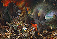 Bruegel the Elder - Aeneas and the Sibyl in Hades - Art Print / Posters