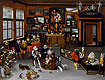 Bruegel the Elder - The Archdukes Albert and Isabella Visiting a Collector's Cabinet - Art Print / Posters