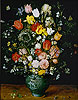 Bruegel the Elder - Flowers in a Blue Vase - Art Print / Posters