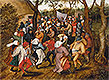 Bruegel the Elder - A Country Wedding - Art Print / Posters