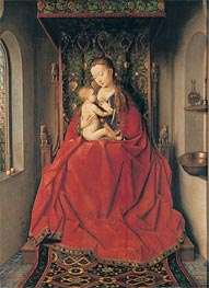 Jan van Eyck | The Lucca-Madonna, Undated | Giclée Canvas Print