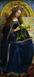 Jan van Eyck | The Virgin Mary (The Ghent Altarpiece), 1432 | Giclée Canvas Print
