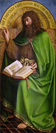 Jan van Eyck | John the Baptist (The Ghent Altarpiece), 1432 | Giclée Canvas Print