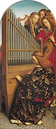 Jan van Eyck | Angels Playing Music (The Ghent Altarpiece), 1432 | Giclée Canvas Print
