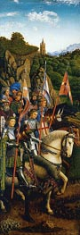 Jan van Eyck | The Knights of Christ (The Ghent Altarpiece), 1432 | Giclée Canvas Print