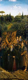 Jan van Eyck | The Hermits (The Ghent Altarpiece), 1432 | Giclée Canvas Print