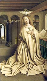 Jan van Eyck | Virgin Annunciate (The Ghent Altarpiece) | Giclée Canvas Print
