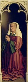 Jan van Eyck | Lysbette Borluut (The Ghent Altarpiece), 1432 | Giclée Canvas Print