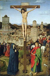 Jan van Eyck | The Crucifixion, Undated | Giclée Canvas Print