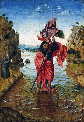 Saint Christopher, c.1440/50 | Jan van Eyck | Painting Reproduction