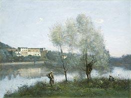 Ville-d'Avray, c.1865 by Corot   Giclée Canvas Print