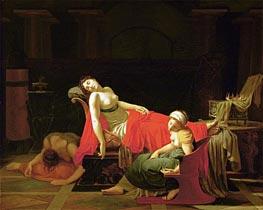 Baron Jean Baptiste Regnault | Death of Cleopatra, c.1796/97 | Giclée Canvas Print