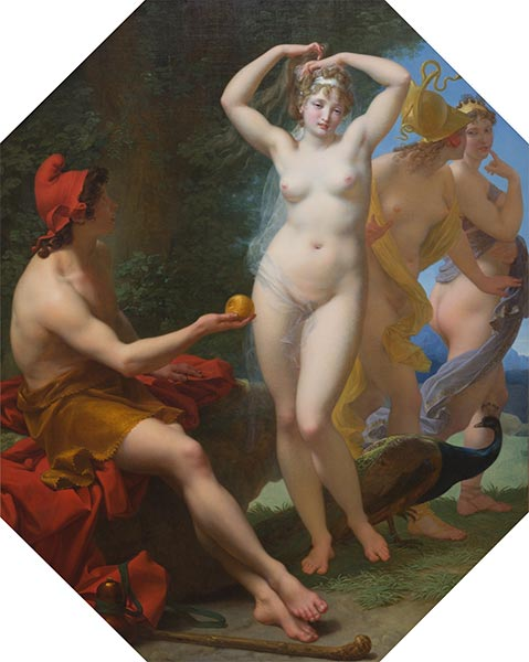 Baron Jean Baptiste Regnault | The Judgment of Paris, c.1812 | Giclée Canvas Print