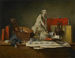 The Attributes of the Arts and the Rewards Which Are Accorded Them, 1766 by Chardin | Giclée Canvas Print