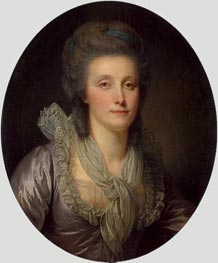 Jean-Baptiste Greuze | Portrait of Countess Ekaterina Shuvalova, c.1770/80 | Giclée Canvas Print