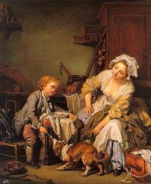 Jean-Baptiste Greuze | The Spoiled Child, c.1760/65 | Giclée Canvas Print
