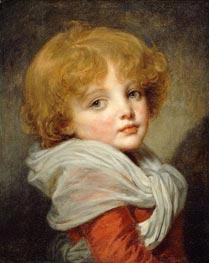 Jean-Baptiste Greuze | Young Boy | Giclée Canvas Print