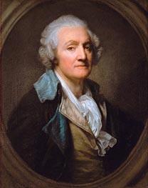 Jean-Baptiste Greuze | Self Portrait | Giclée Canvas Print