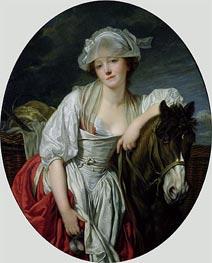 Jean-Baptiste Greuze | The Milkmaid | Giclée Canvas Print