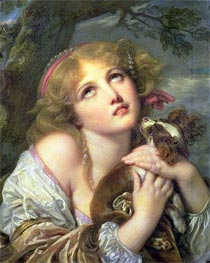 Jean-Baptiste Greuze   The Souvenir (Fidelity)   Giclée Canvas Print