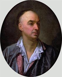 Jean-Baptiste Greuze | Portrait of Denis Diderot, undated | Giclée Canvas Print