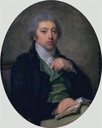 Jean-Baptiste Greuze | Citizen Bernard Dubard | Giclée Canvas Print