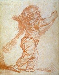 Jean-Baptiste Greuze | Study of a Young Boy | Giclée Canvas Print