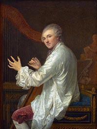 Jean-Baptiste Greuze | Ange-Laurent de Lalive de Jully | Giclée Canvas Print