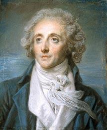 Jean-Baptiste Greuze | Portrait of Baptiste Aine | Giclée Paper Print