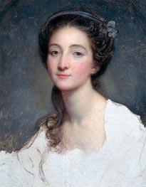 Jean-Baptiste Greuze | Sophie Arnould, c.1773 | Giclée Canvas Print