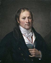 Jean-Baptiste Greuze | Portrait of Jean-Nicolas Billaud-Varenne, c.1790/93 | Giclée Canvas Print