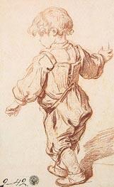 Jean-Baptiste Greuze | Study of a Boy Walking, c.1765/69 | Giclée Paper Print