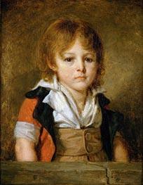 Jean-Baptiste Greuze | Portrait of Edouard Bertin, undated | Giclée Canvas Print