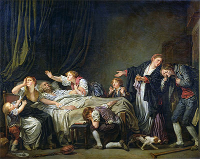 The Punished Son, 1778 | Jean-Baptiste Greuze | Painting Reproduction