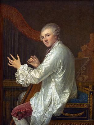 Ange-Laurent de Lalive de Jully, p.1759 | Jean-Baptiste Greuze | Painting Reproduction