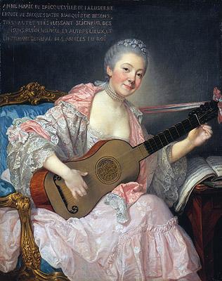 Anne-Marie de Bricqueville de Laluserne, Marquise de Bezons, c.1759 | Jean-Baptiste Greuze | Painting Reproduction