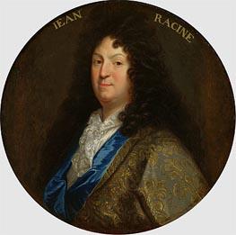 Jean-Baptiste Santerre | Portrait of Jean Racine, Undated | Giclée Canvas Print