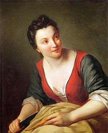 Jean-Baptiste Santerre | The Cook, Undated | Giclée Canvas Print