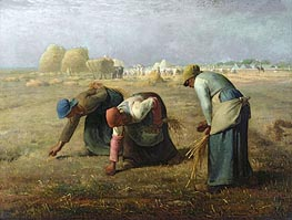 Millet | The Gleaners | Giclée Canvas Print