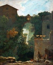 Fragonard | The Falls of Tivoli, undated | Giclée Canvas Print