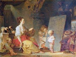Fragonard | Say Please, c.1780 | Giclée Canvas Print