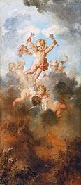 Fragonard | The Progress of Love: Love Triumphant, c.1790/91 | Giclée Canvas Print