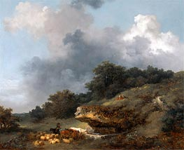 The Watering Place, c.1763/65 by Fragonard | Giclée Canvas Print